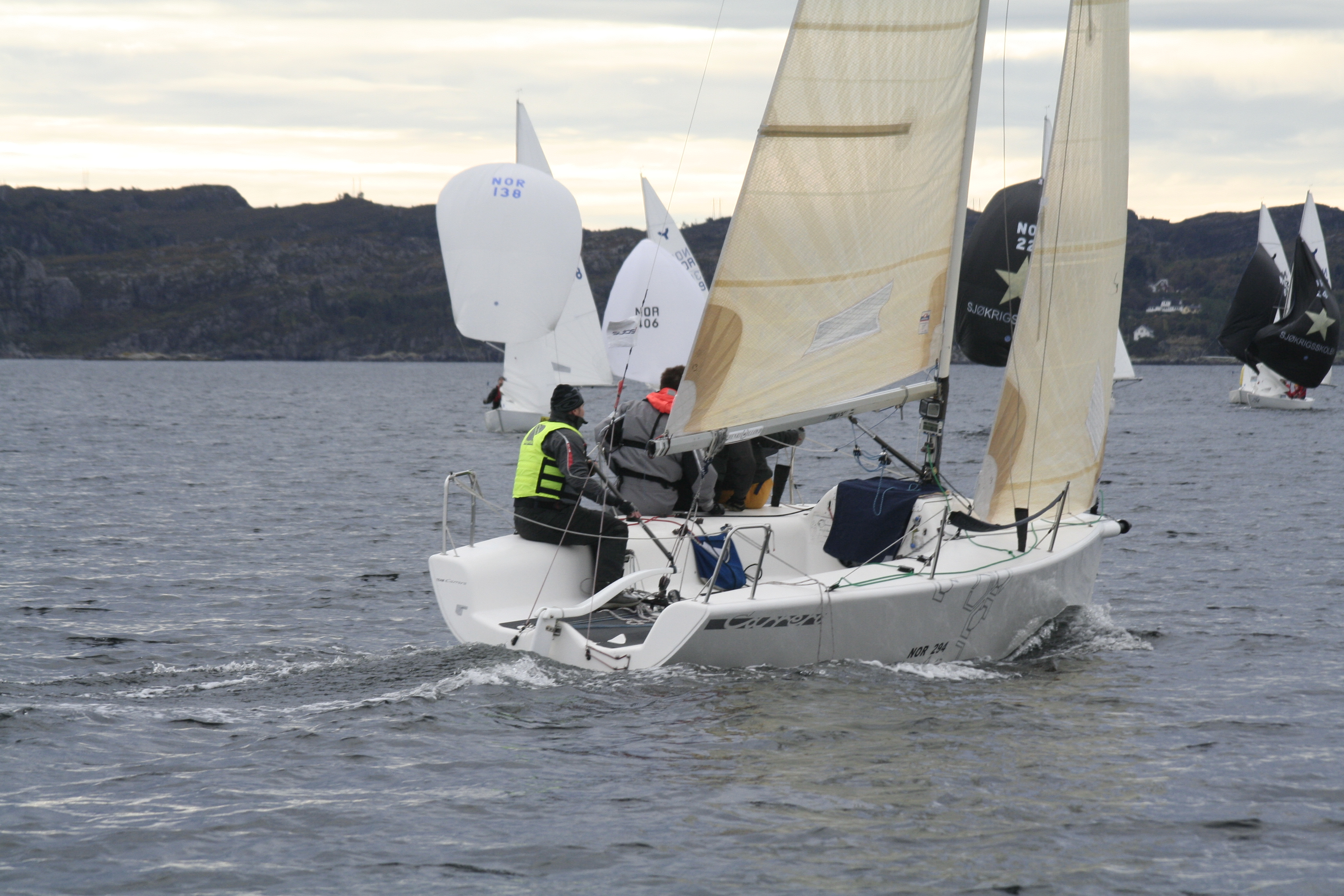 To flotte regattadagar